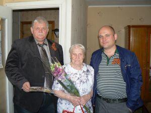Поздравление ветеранов с 70ти-летием Великой Победы