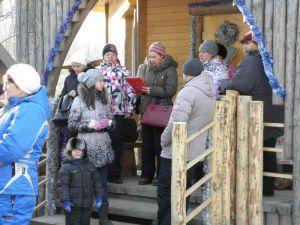 Выезд сотрудников  ФБУ Приморский ЦСМ на природу, декабрь 2013 года