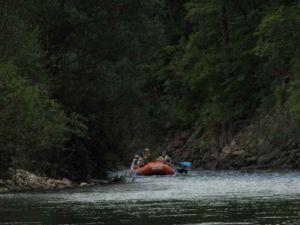 Сплав по реке Киевке, август 2011 года